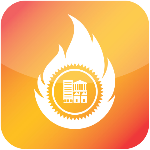 Heat maps vault icon